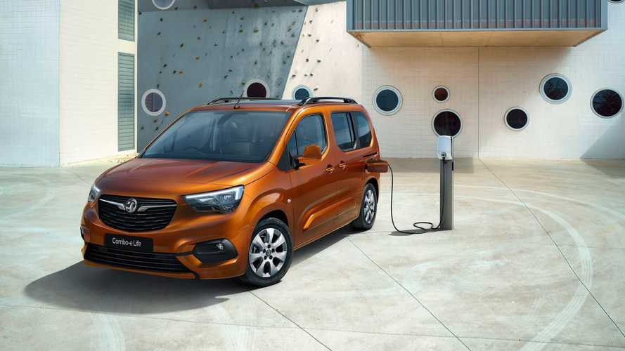 Opel (And Vauxhall) Announce Combo-e Life Passenger Compact Van