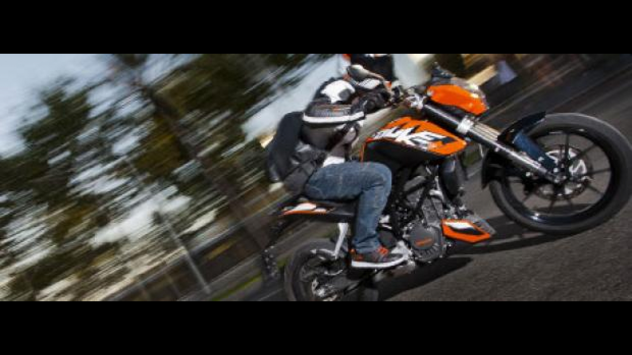 KTM Duke 200 lanciata in India