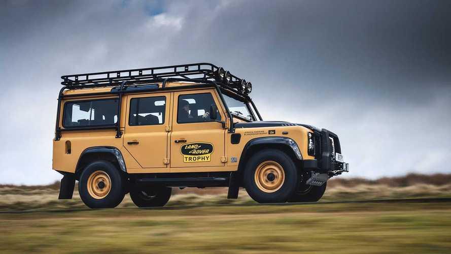 Land Rover Defender, torna quella del Camel Trophy