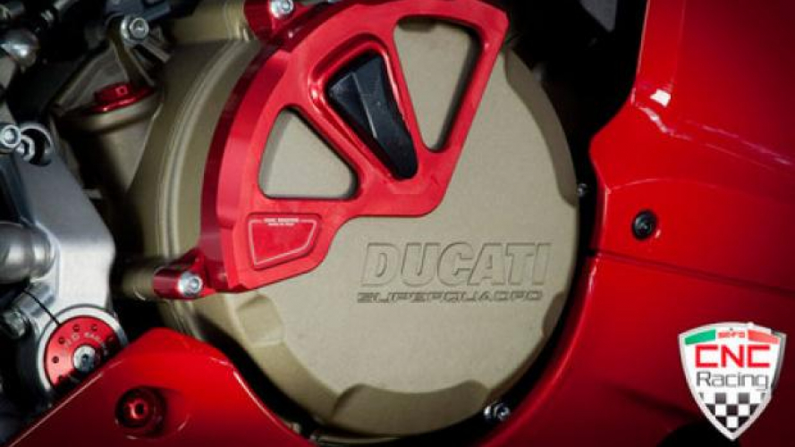 CNC Racing: accessori in Ergal 7075 per 1199 Panigale