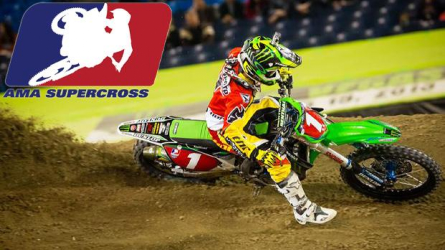 "AMA Supercross 2013 Rd.13 - Houston: Villopoto continua la ""carica"""