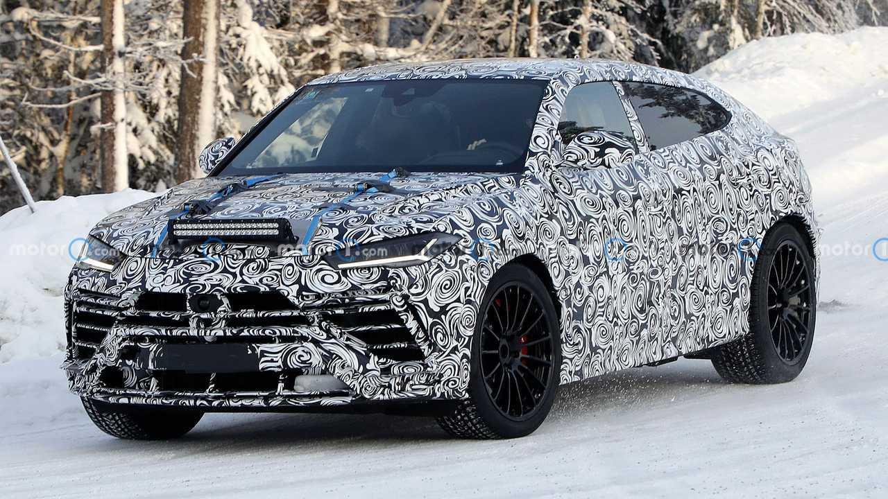 Flagra: Lamborghini Urus Evo 2022