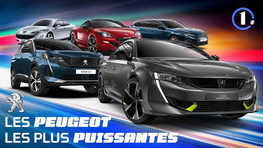 Les 5 Peugeot de série les plus puissantes de tous les temps