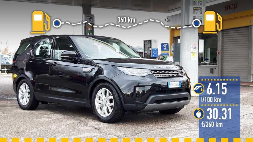 Land Rover Discovery 3.0 V6 diesel, la prova dei consumi reali