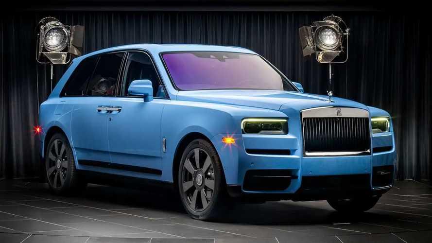 Rolls-Royce Cullinan Bespoke Colors