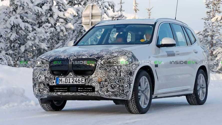BMW iX3 2022 - flagra