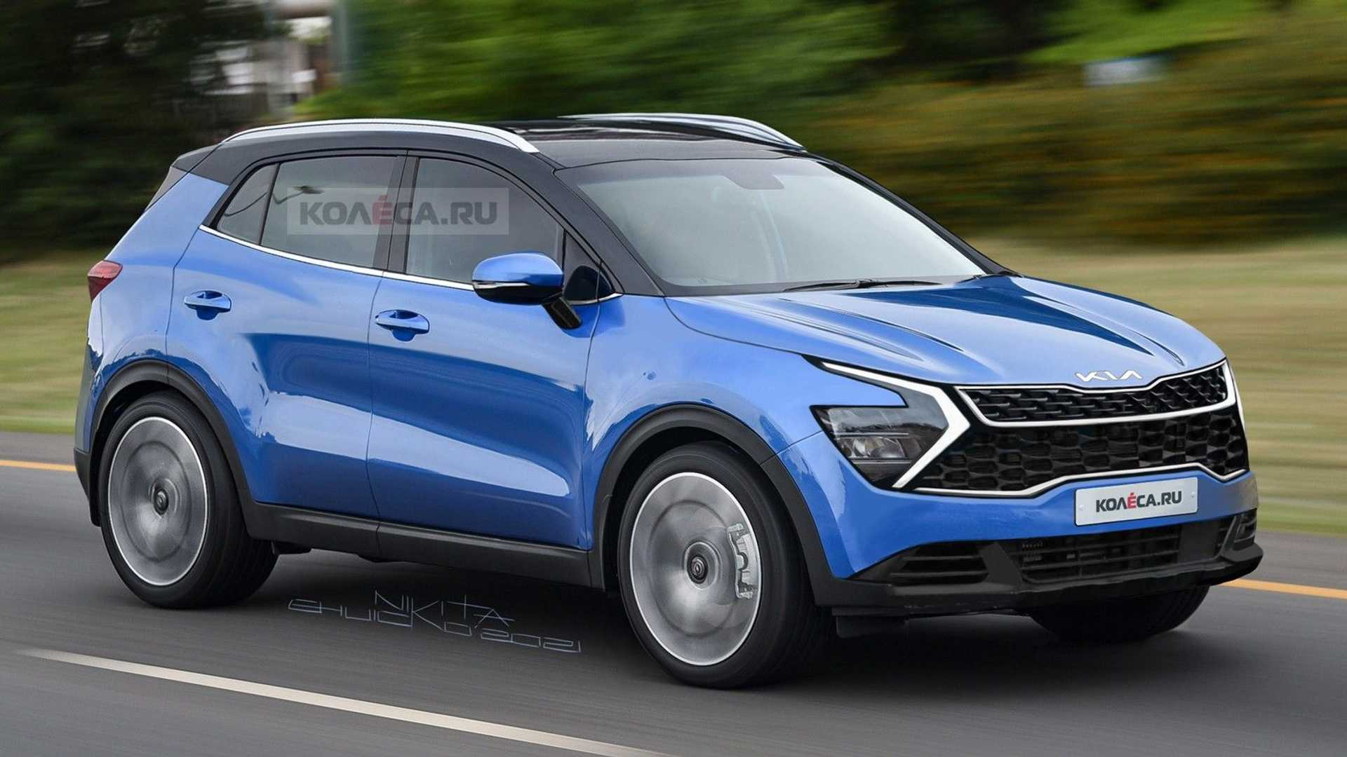 2022 Kia Sportage Speculatively Rendered After Latest Spy Shots
