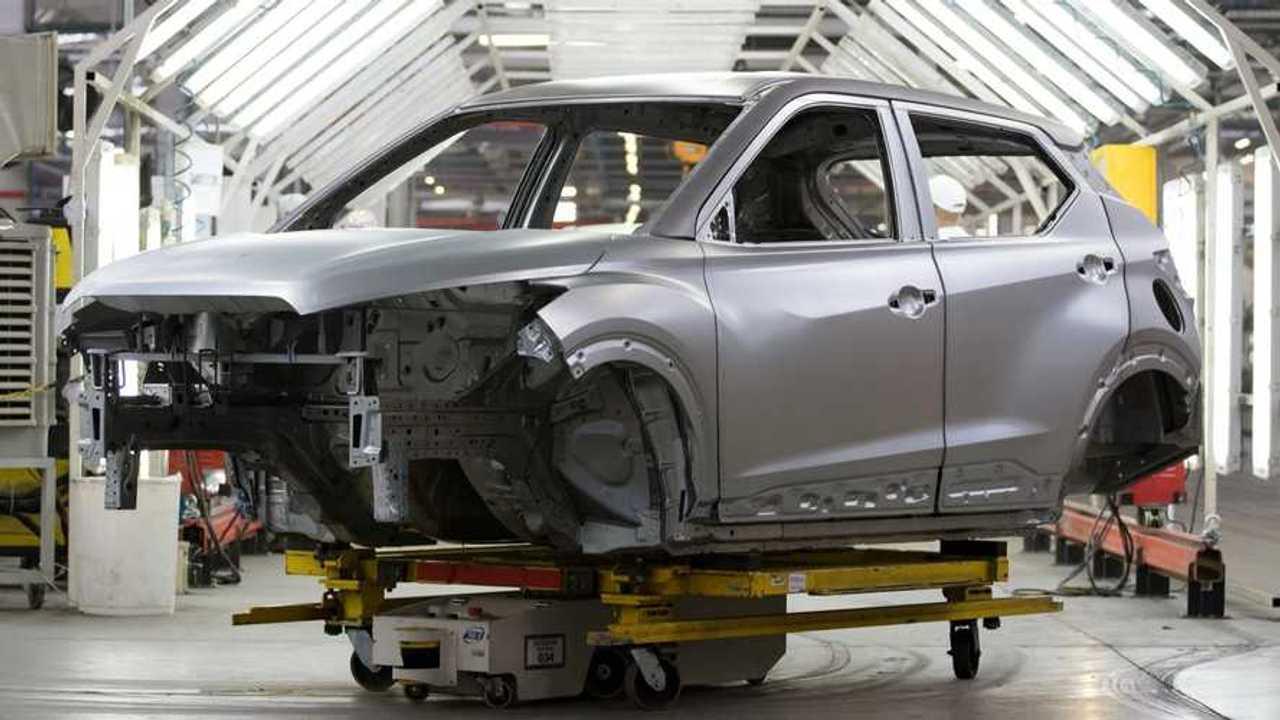 Novo Nissan Kicks 2022 - Fábrica