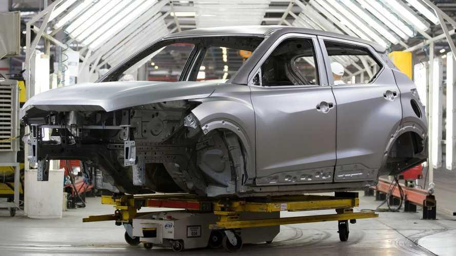 Novo Nissan Kicks 2022 começa a ser produzido no Brasil e estreia em março