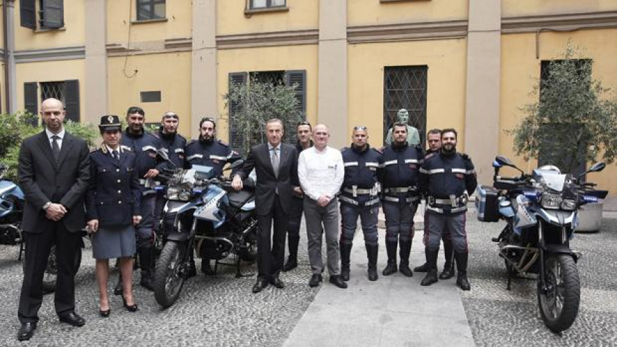 BMW e Dainese per la Polizia di Milano