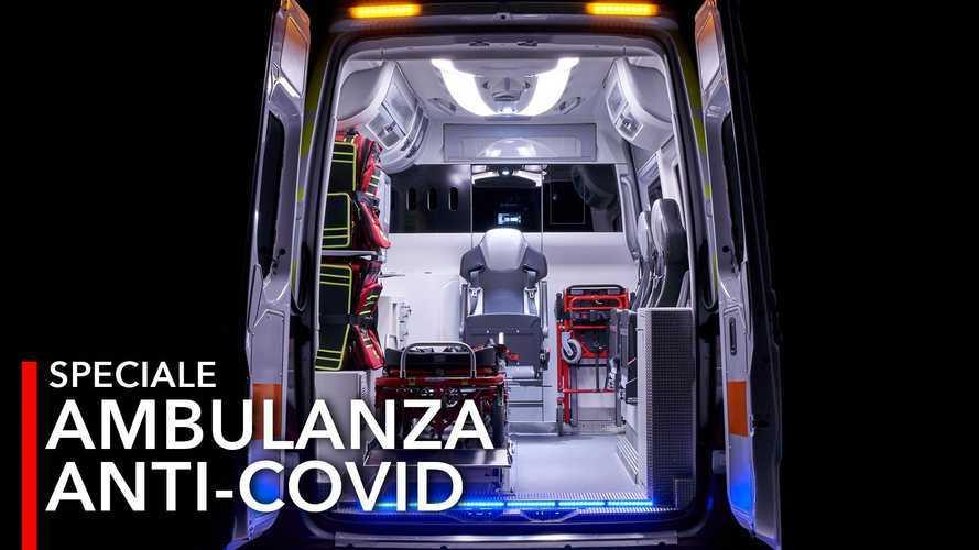 Ambulans Canggih Anti Covid yang Bisa Saring Udara Terkontaminasi