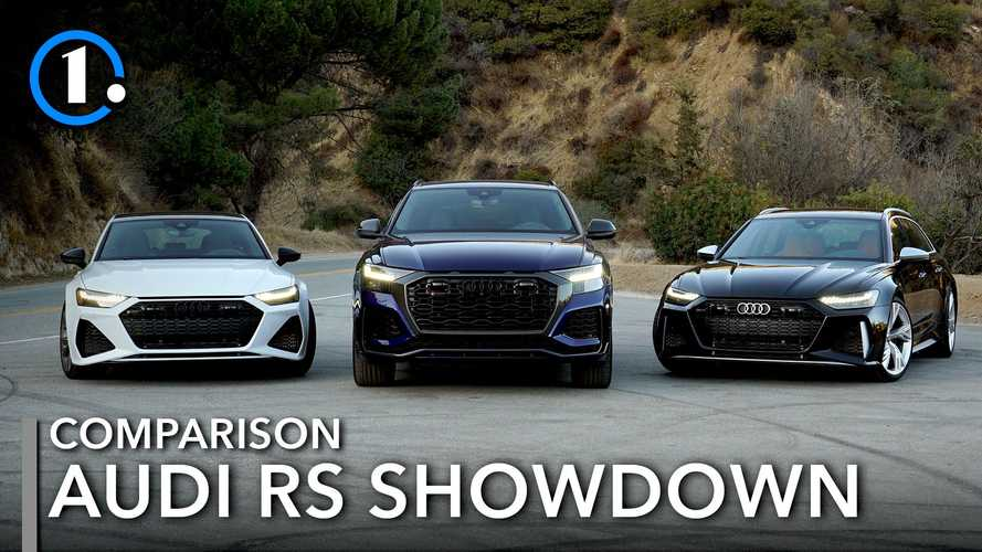 2021 Audi RS6 Avant Vs RS7 Vs RS Q8 Comparison: Family Values
