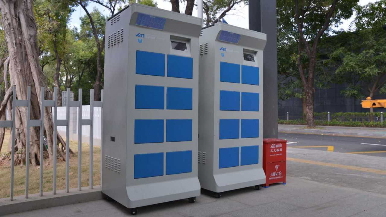Swappable Battery Towers In China Show How Standards Can Advance EVs