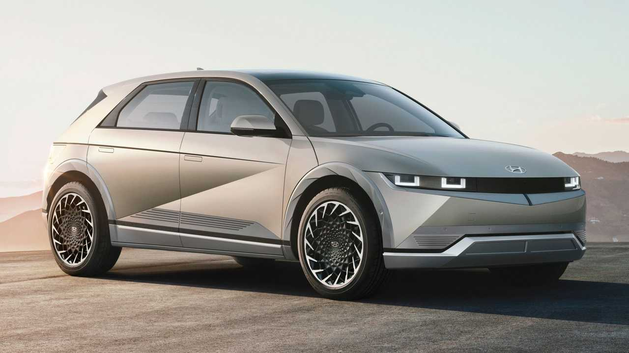 2022 Hyundai Ioniq 5 reveal photo
