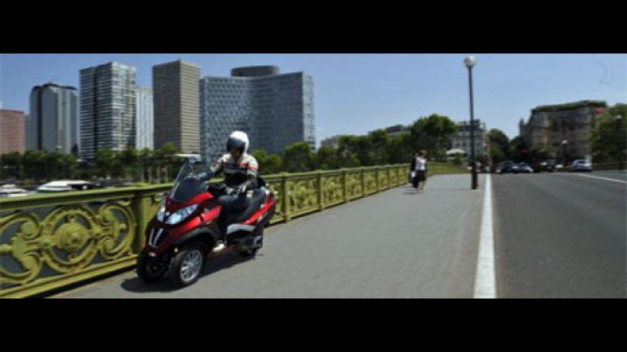 Piaggio MP3 Hybrid 300 - TEST