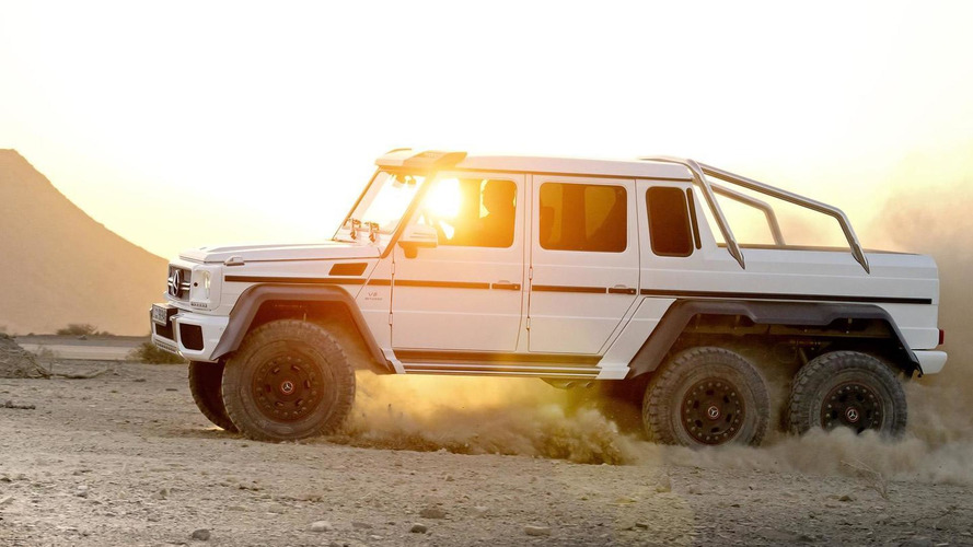 Mercedes 6x6 Price In Usa >> 2015 Mercedes-Benz G63 AMG 6x6 priced from 456,900 EUR