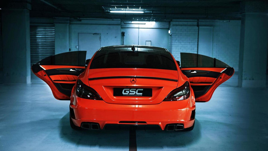 Mercedes-Benz CLS63 AMG modified by GSC