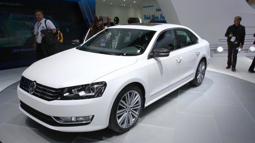 Volkswagen Passat Performance Concept showcased in Detroit
