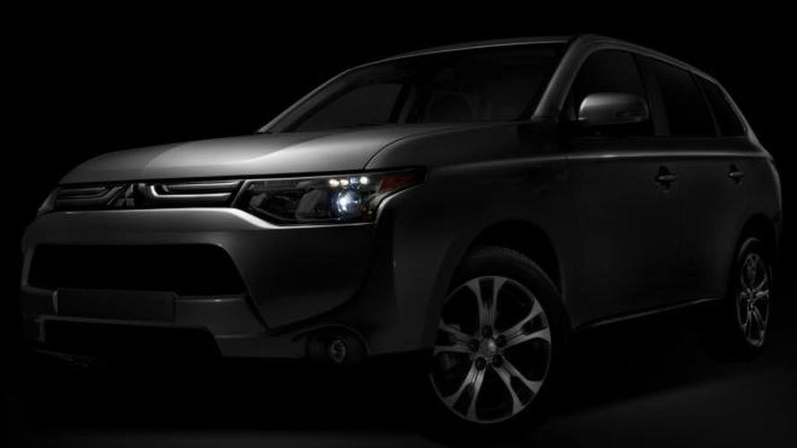 Mitsubishi previews 2014 Outlander