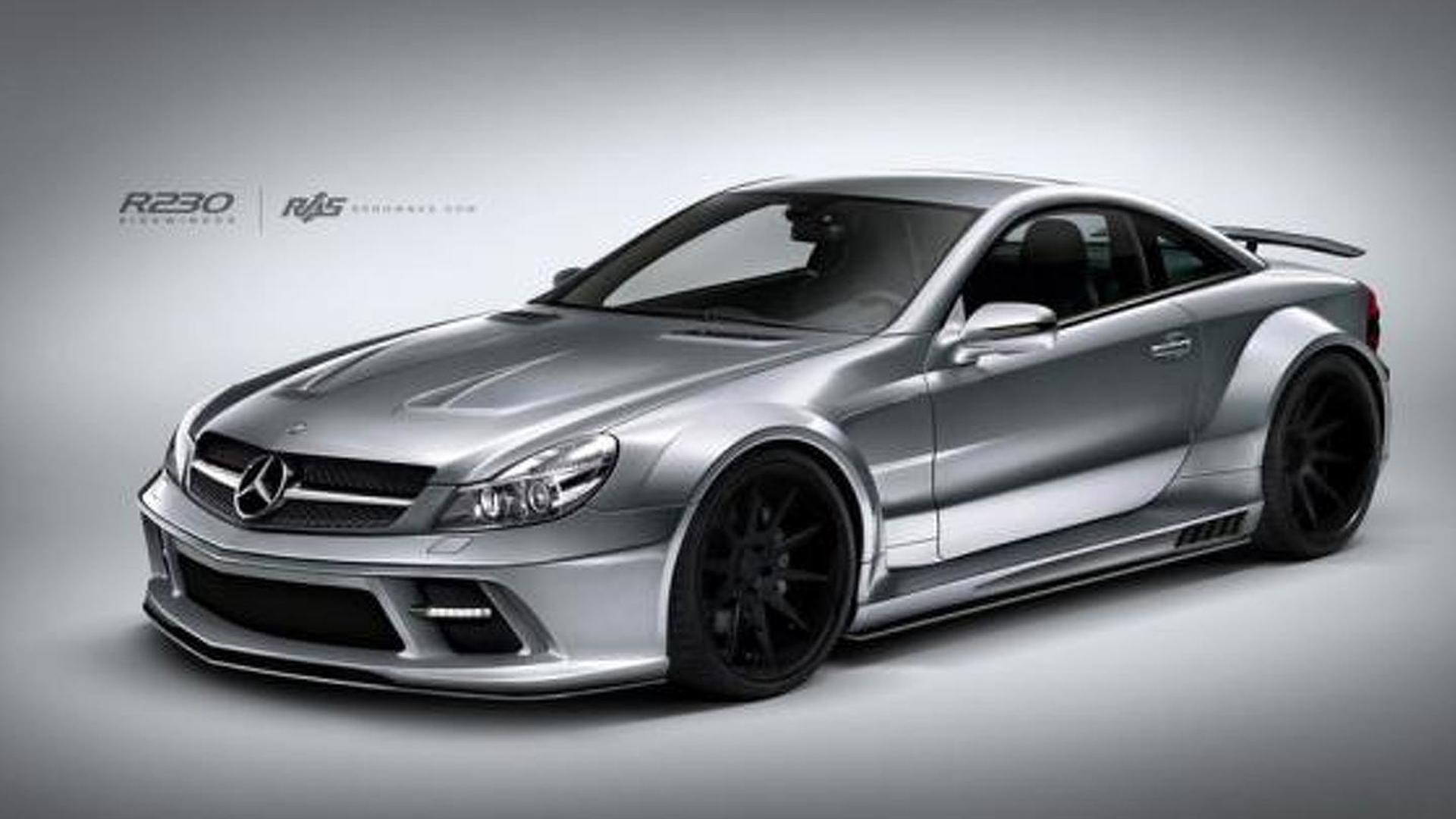 0c3997dc956dd4 Renown Auto Style launches body kit for previous Mercedes-Benz SL