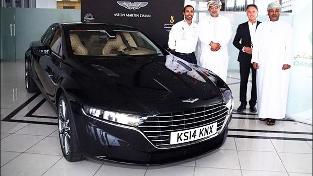 [Copertina] - Aston Martin Lagonda, le prime foto