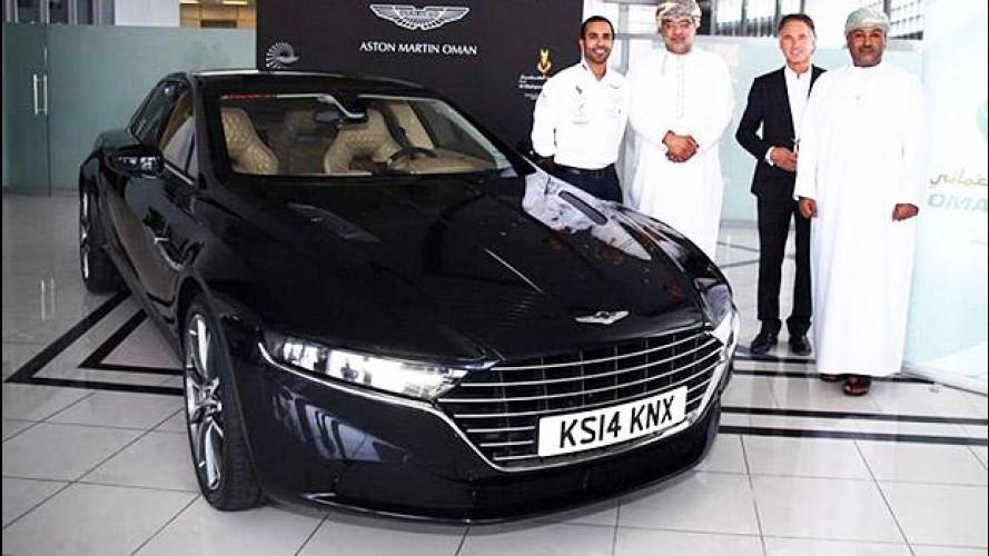 Aston Martin Lagonda, le prime foto