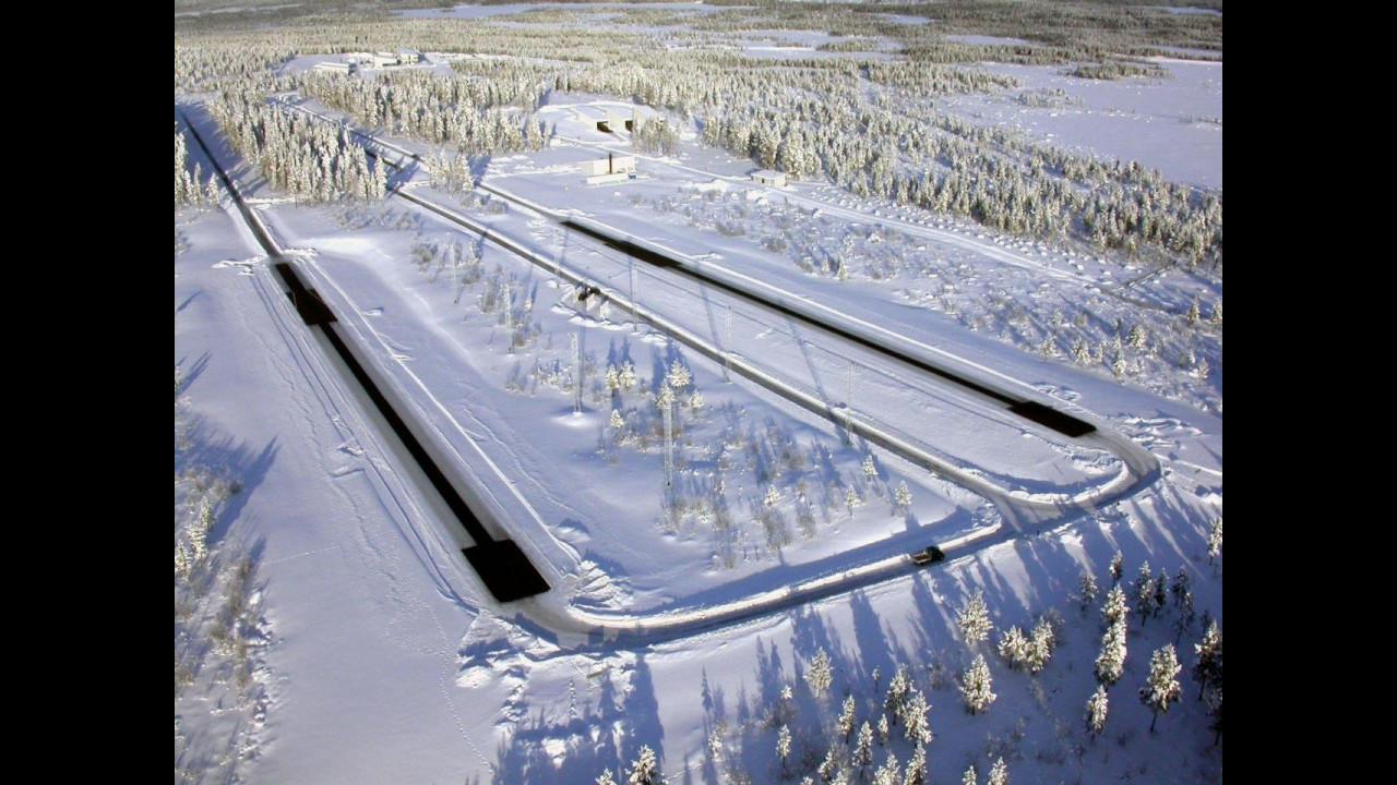 Il Centro Prove Bosch ad Arjeplog, Svezia