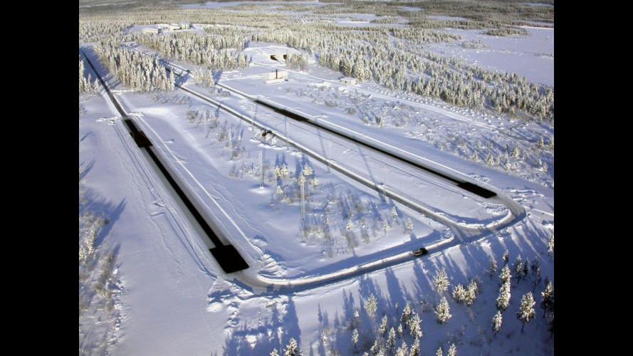 Viaggio in Lapponia, dove osano le auto