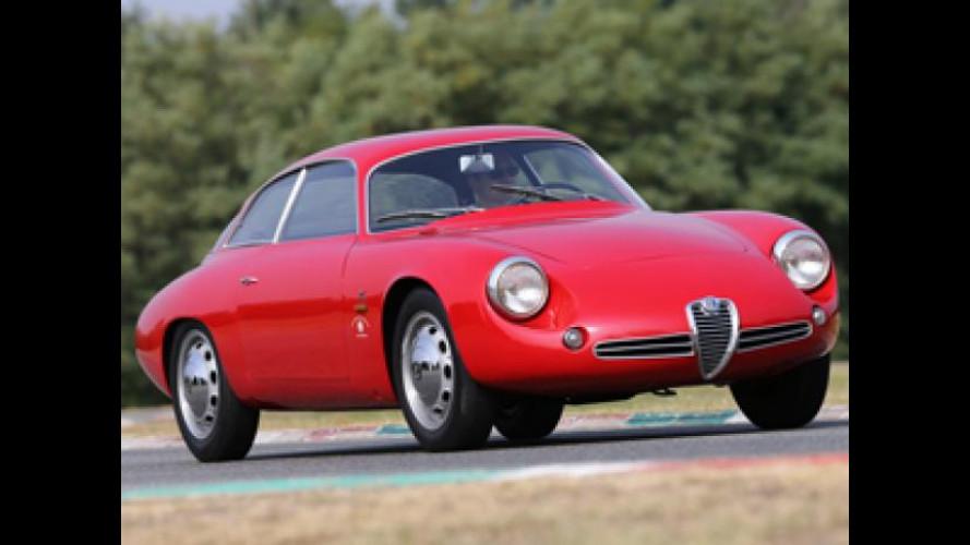 Alfa Romeo, i 60 anni della Giulietta al Gran Premio Nuvolari