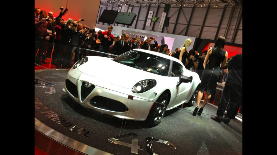 "Alfa Romeo 4C: al Salone di Ginevra torna la ""Alfa Romeo pura"""