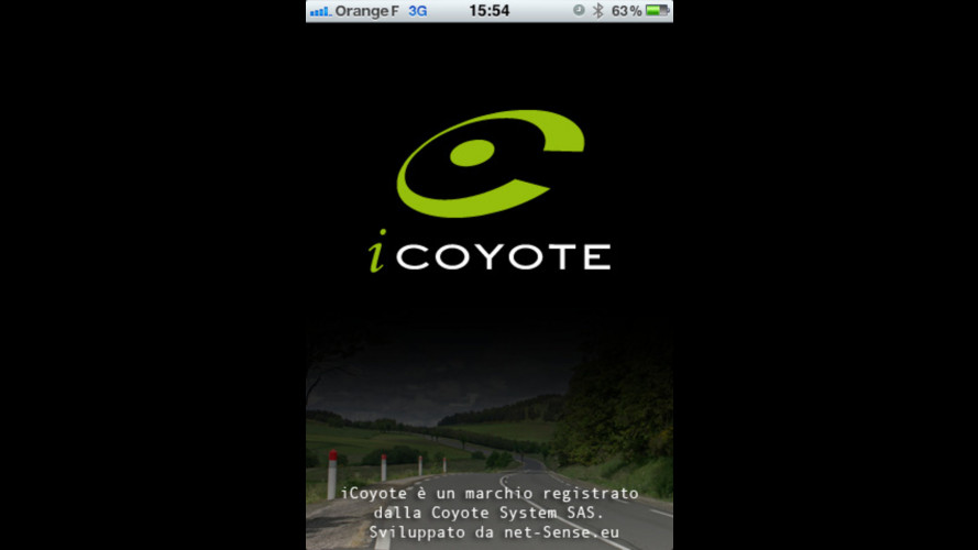 iCoyote: il Coyote diventa un'app per iPhone e iPad