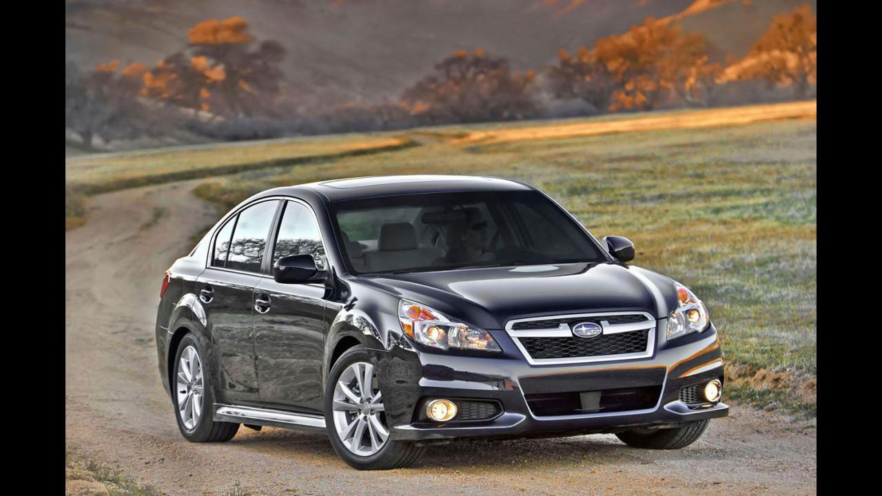 Subaru Legacy e Outback restyling