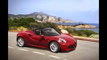 Alfa Romeo 4C Spider, 75.000 euro e vento fra i capelli