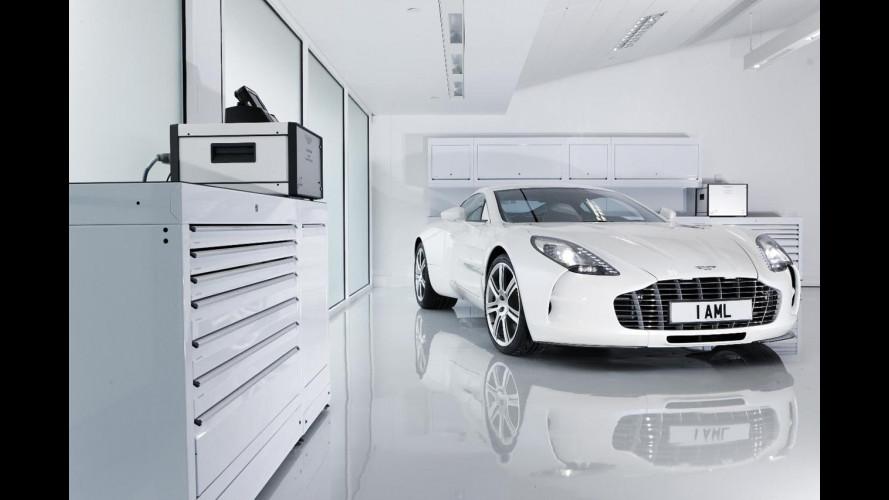Aston Martin One-77, unica e settantasettesima