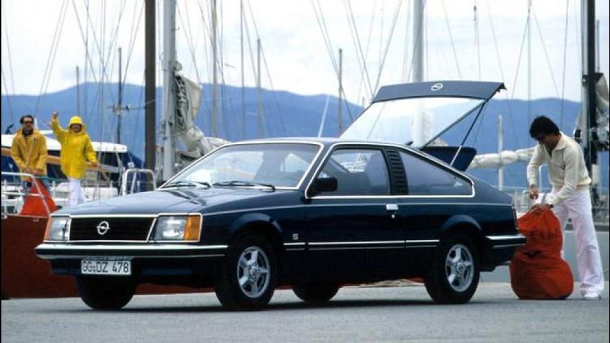 Opel Monza, la coupé europea