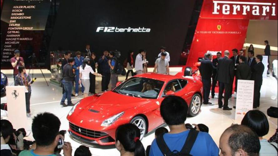 Ferrari presenta a Pechino il nuovo motore V12 ibrido