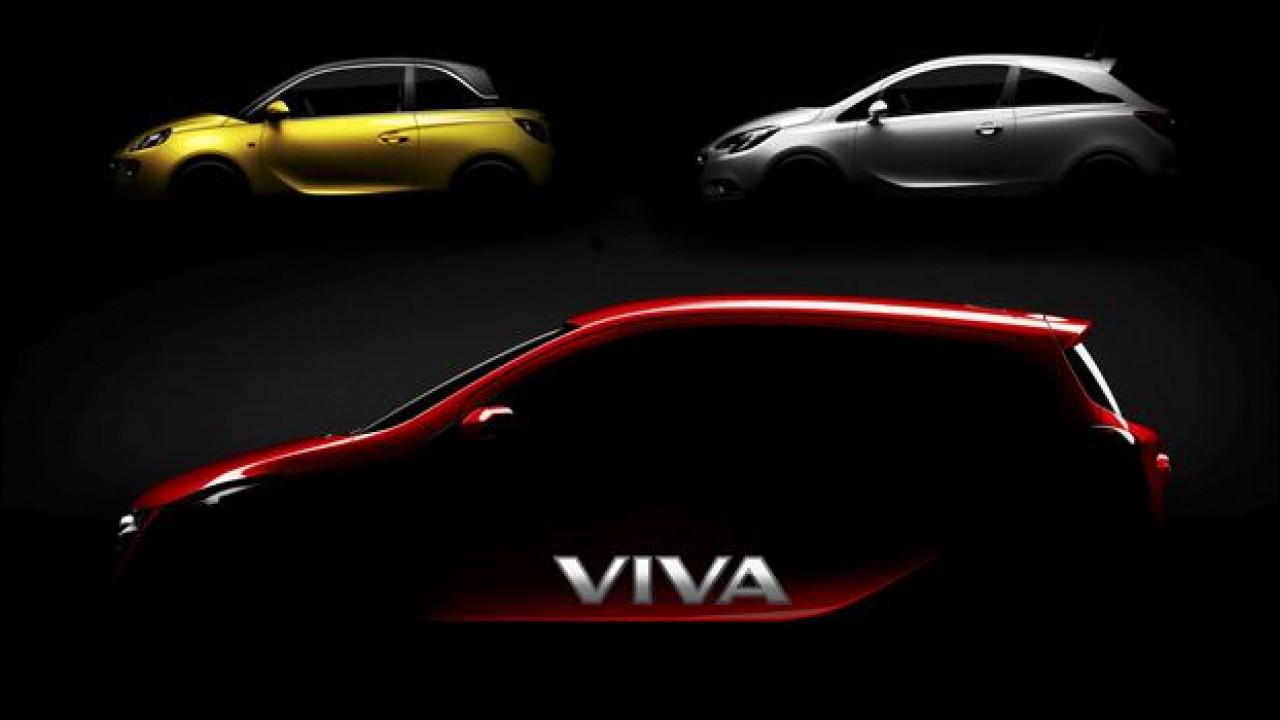 [Copertina] - Opel Viva, l'erede della Agila sta arrivando