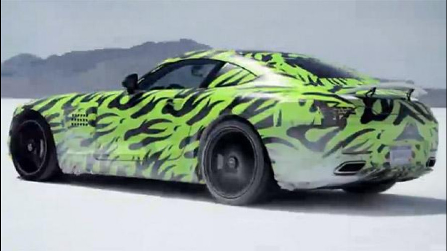 Mercedes-AMG GT, in diretta streaming [VIDEO]