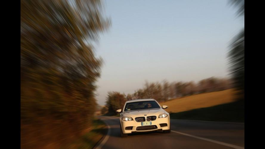 """BMW M5: la supercar dove l'emozione è """"normale"""""""
