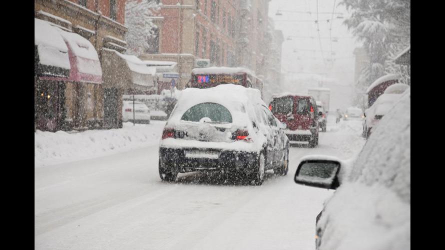 Neve e ghiaccio su strade e autostrade: consigli per il maltempo