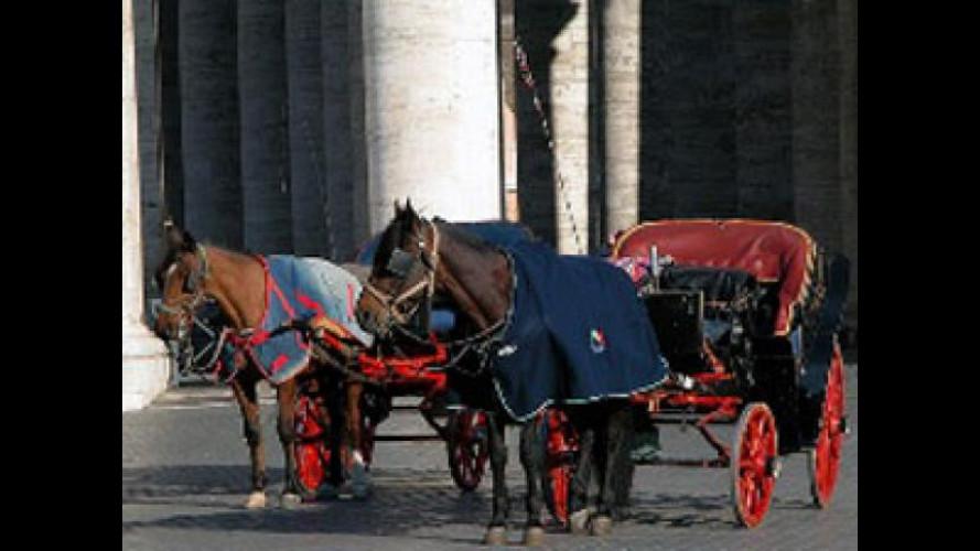 """Roma, anche le """"Botticelle"""" avranno la targa"""