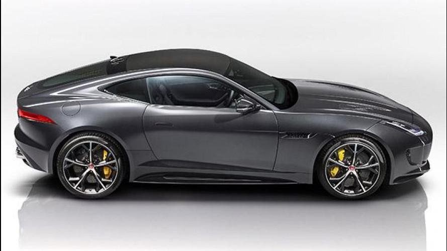 [Copertina] - Jaguar F-Type MY16, con trazione integrale e cambio manuale