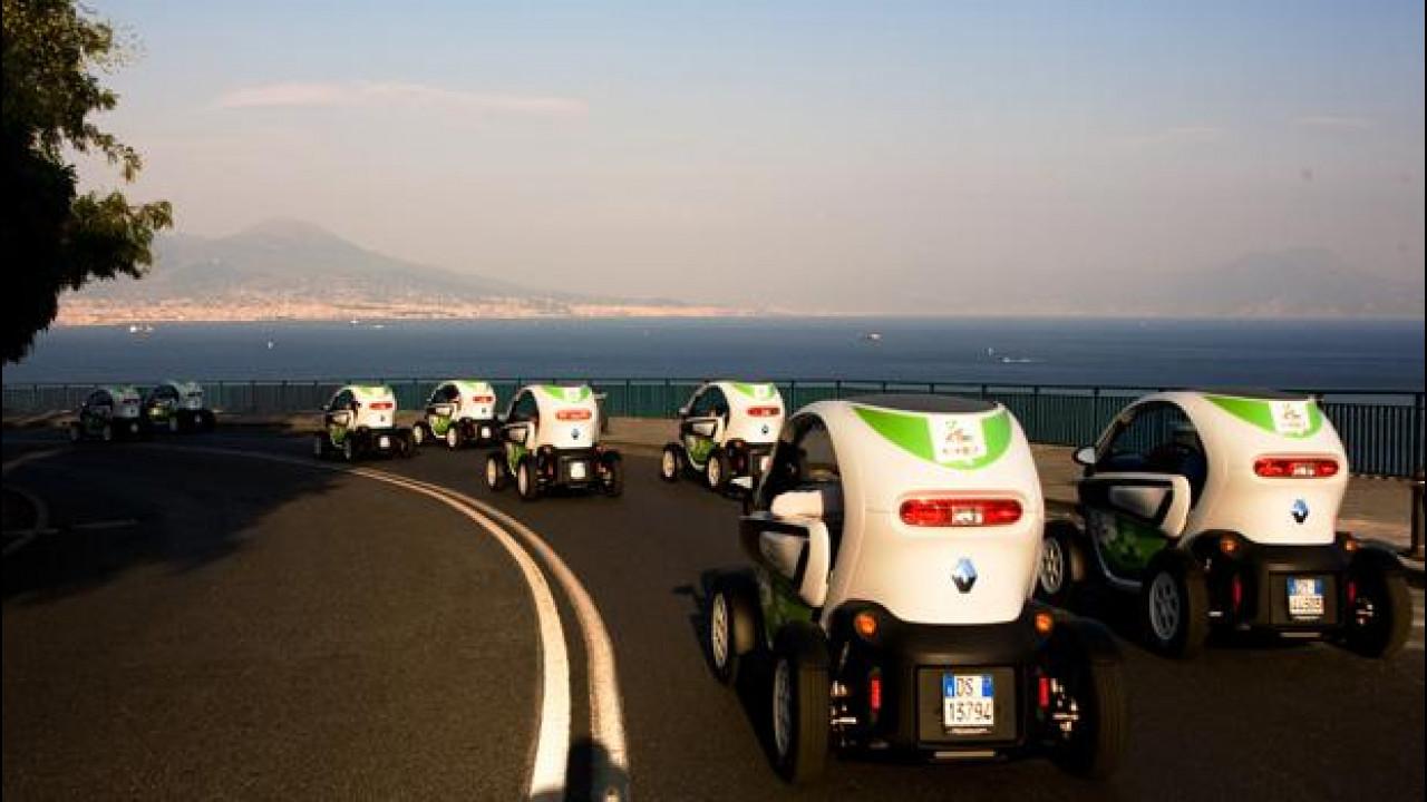 [Copertina] - E' a Napoli il primo car-sharing ecologico d'Italia
