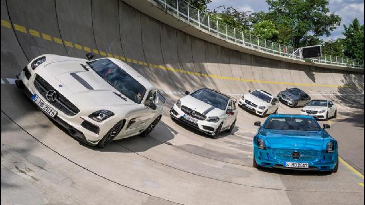 [Copertina] - Mercedes AMG, 18 nuove super car per l'estate