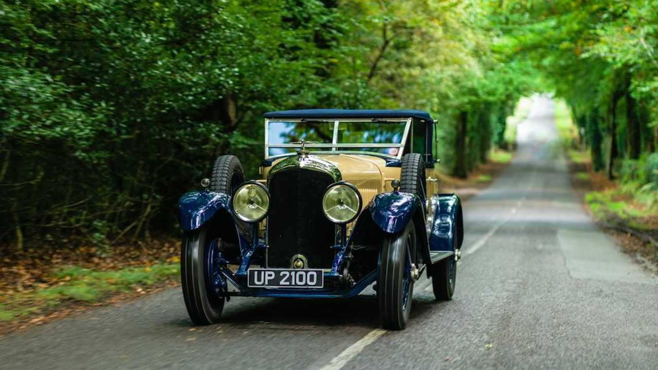 Driving the 'house find' Victor Broom Bentley