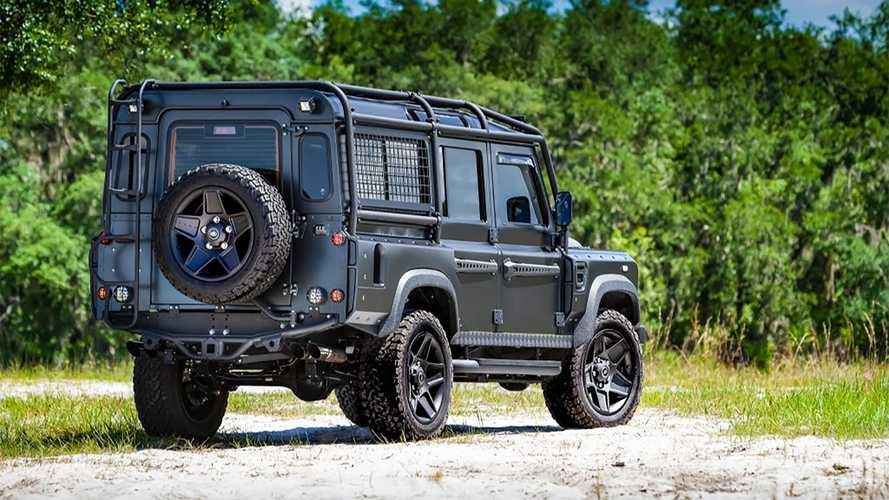 Land Rover Defender eléctrico de E.C.D. Automotive Design