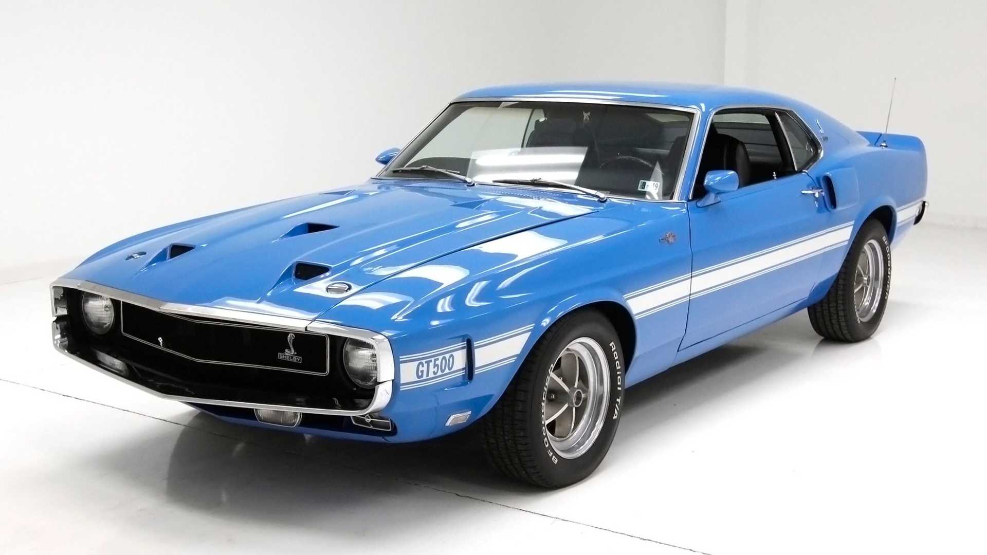 """[""""Own A Fully Restored Numbers-Matching 1969 Shelby GT500""""]"""