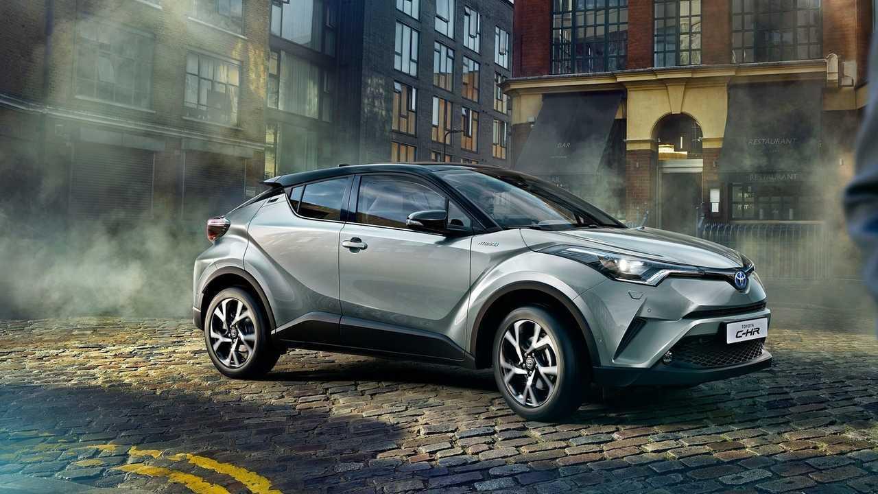 Toyota C-HR - Environ 20'000 euros