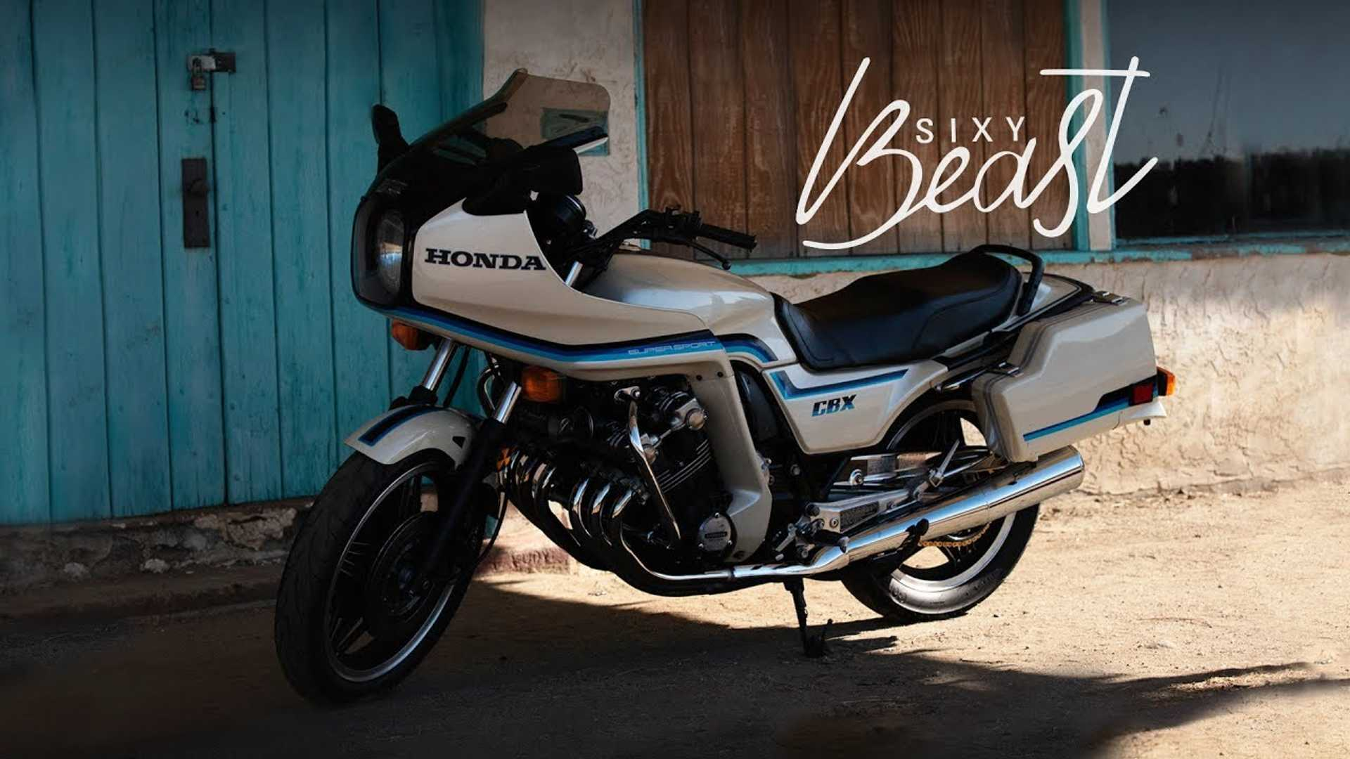 This 1982 Honda CBX1000 Is A Perfect Time Capsule