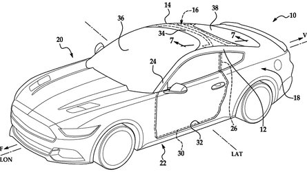 ford extended windshield patent